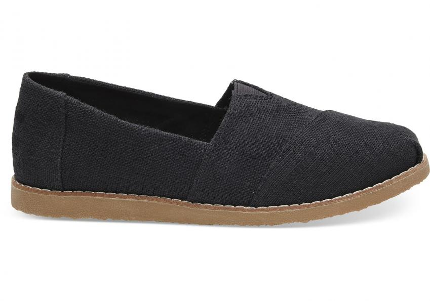pretty nice cb692 b0cb0 Damen Toms Schuhe - Black Heritage Canvas Crepe Women's Classics Black > M1  Essen