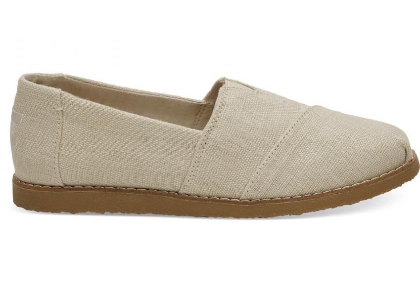 Damen Toms Schuhe – Natural Heritage Canvas Crepe Women's Classics Natural