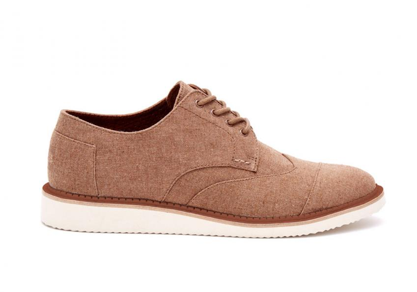 Herren Toms Schuhe – Chambray Brown Brogues Brown